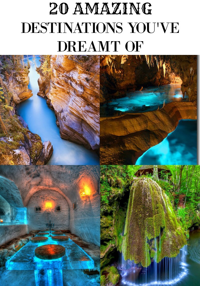20 Amazing Travel Destinations you've dreamt of