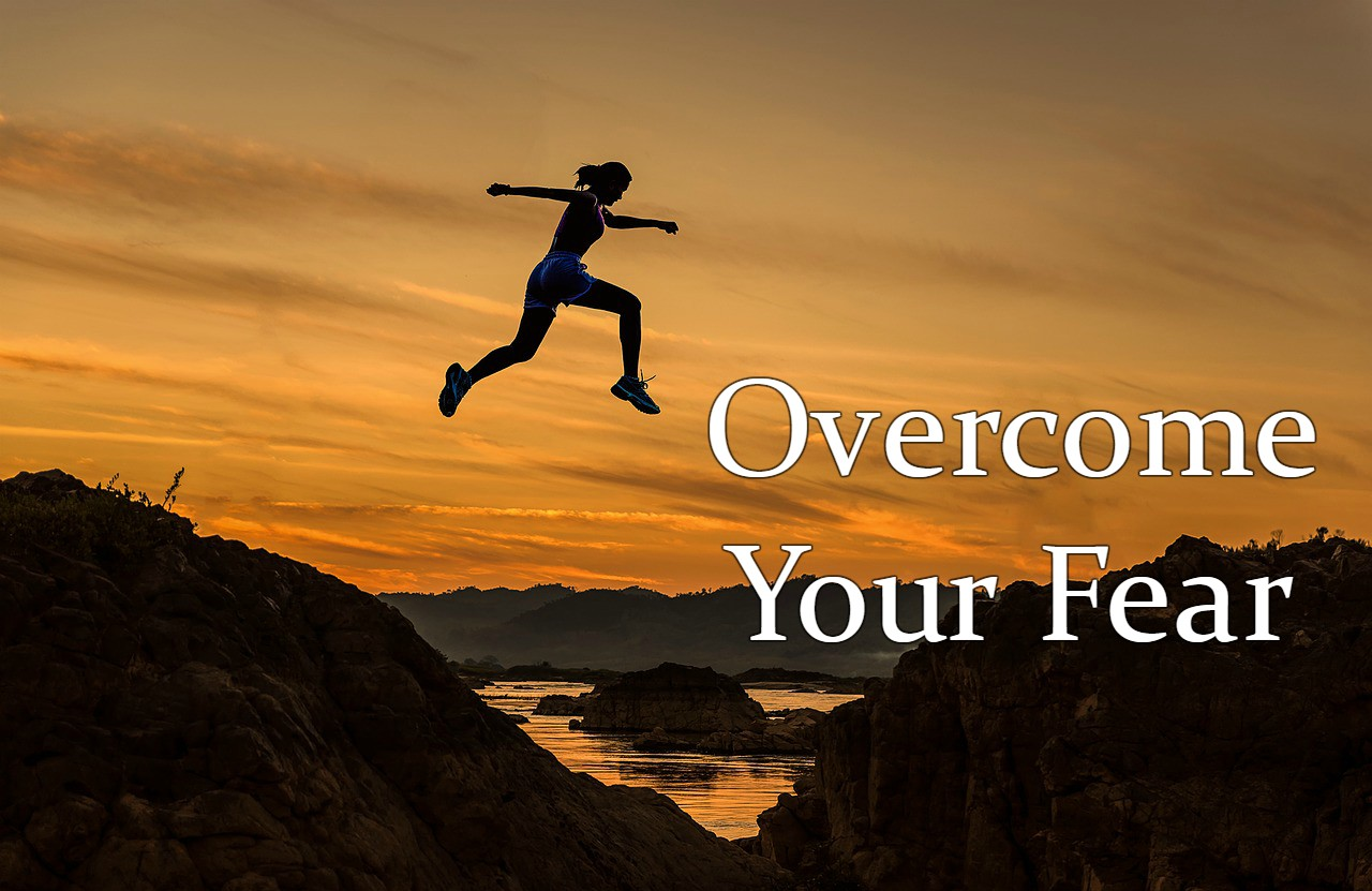 Overcome the fear that fights your potential to be great