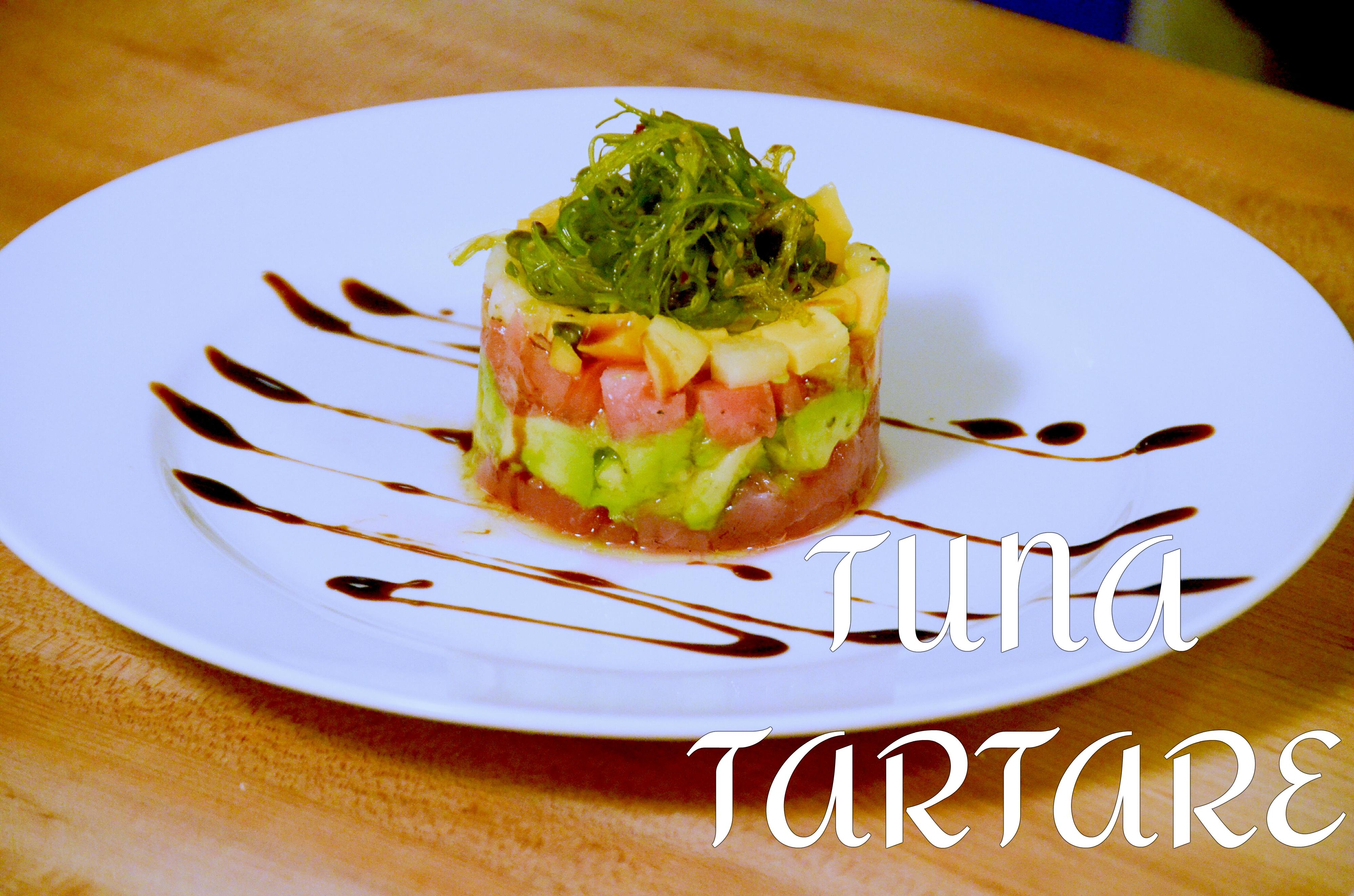Tomato, Mango, Avocado, Tuna Tartare
