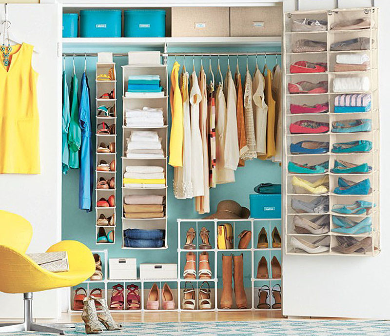 15 Creative Closet Organizing & Storage For Your Home - Kisses for ...