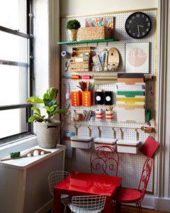 balcony-pegboard-shelving-ideas