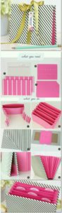 diy Stationery organizer