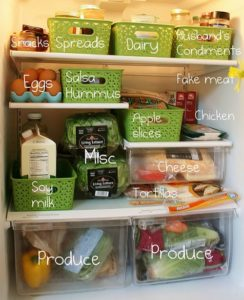 Brilliant Fridge Organization Ideas
