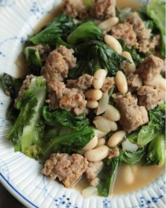 escarole beans and suasge