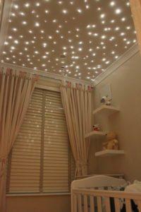 diy ceiling stars
