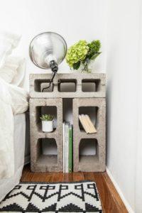 DIY nightstand
