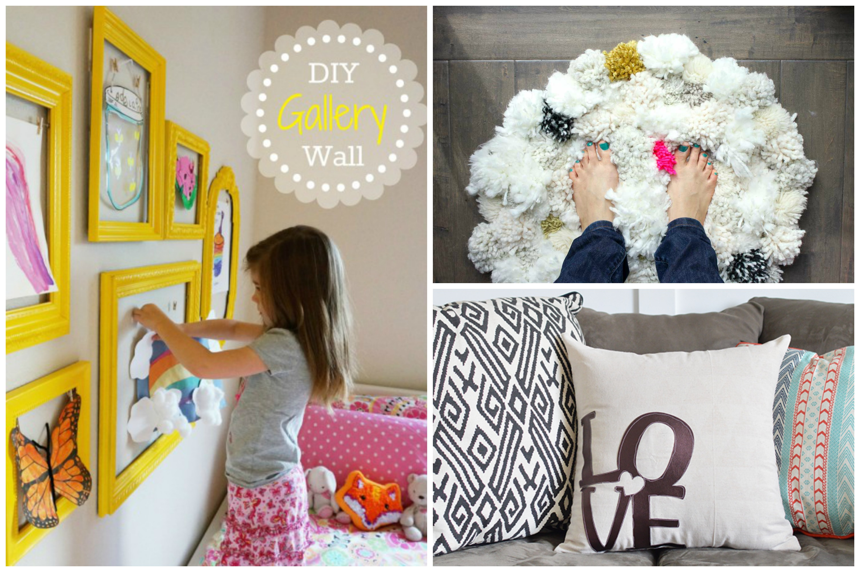 12 cheap and easy diy ideas for your bedroom kisses for for Cheap diy projects for bedroom
