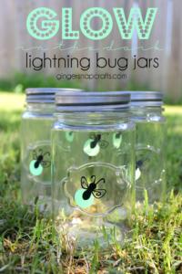 glow in the dark lightning bug