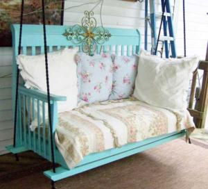 re-purpose crib