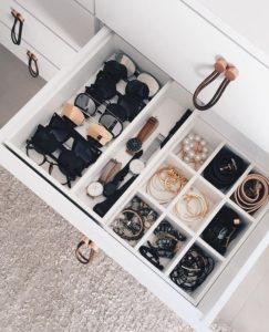 storage organizational bins