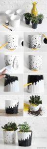 diy Creative flower pot