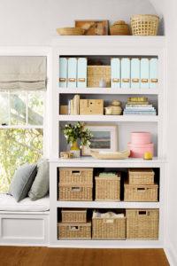 Shelf Storage organization Ideas