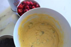 Blueberry Cream Cheese Pancakes 4