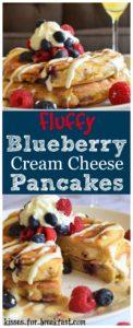 cream cheese blueberry pancakes