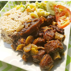 Jamaican Oxtail and Beans