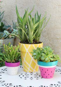 Painted Pot Ideas