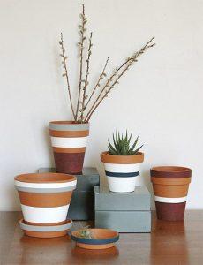 DIY Cute Plant Potters
