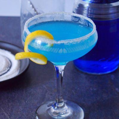 Blue Sidecar Cocktail