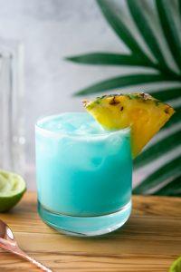 Hawaiian blue cocktail