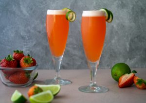 Strawberry Pisco Sour