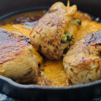 Stuffed Cheesy Jerk Chicken Breast