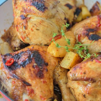 Pineapple Ginger Glaze Chicken