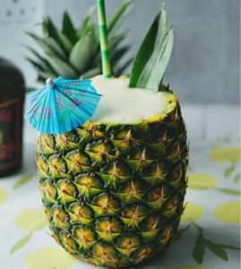 Pineapple Coconut Rum Slushy