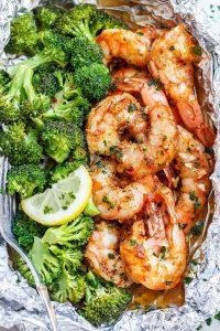 Keto Shrimp and Broccoli