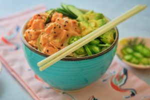 Spicy Tuna Poke Bowl