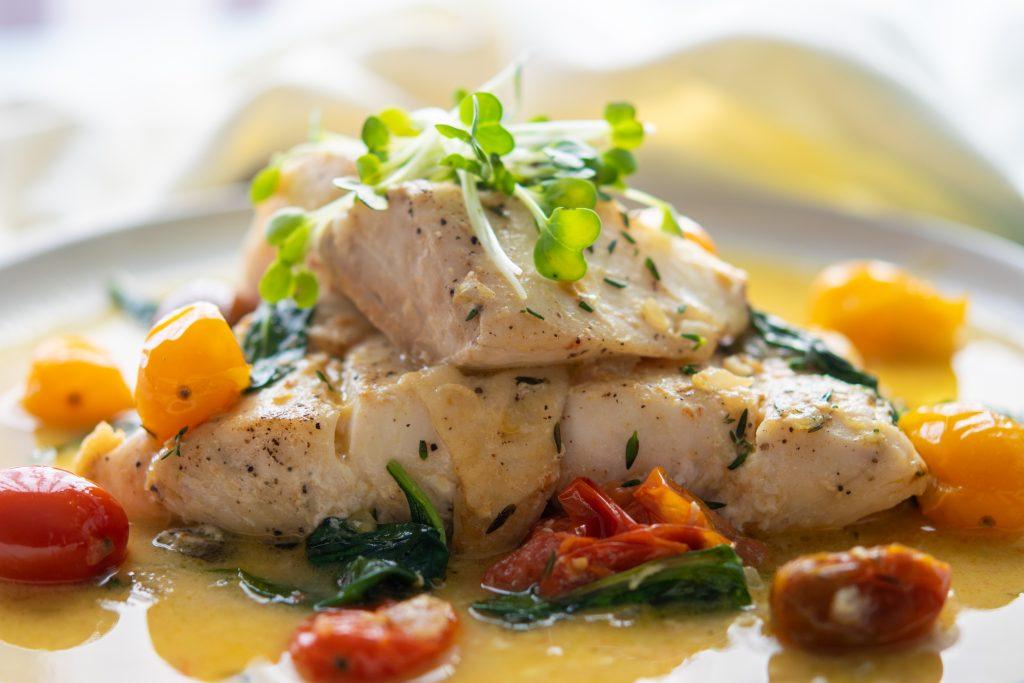 Seared Halibut in Curry Butter Sauce Recipe 3